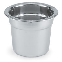 Vollrath 46447-1 Replacement Stainless Steel Inset / Food Pan for 7.4 Qt. Panacea and Maximillian Steel Soup Marmites