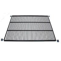 True 909146 Black Coated Wire Shelf - 24 7/16 inch x 20 7/8 inch