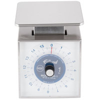Edlund SR-1 Premier Series 16 oz. Mechanical Portion Scale with 6 inch x 6 3/4 inch Platform