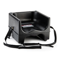Cambro 200BCS Dual Seat Booster Chair with Strap - Black
