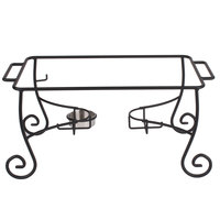 American Metalcraft CF1 Full Size Wrought Iron Ornate Chafer Stand