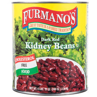 Furmano's #10 Can Kidney Beans (Dark Red - in Brine) - 6/Case