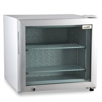 Excellence CTF-2 White Countertop Display Freezer with Swing Door - 1.8 cu. ft.