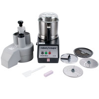 Robot Coupe R301 Dice Ultra Combination Continuous Feed / Batch Bowl Food Processor / Dicer with 3.5 qt. Stainless Steel Bowl - 120V