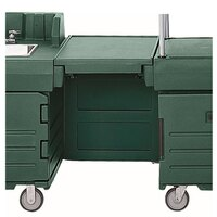Cambro KMC24519 Green CamKiosk Connector Unit with Front Panel