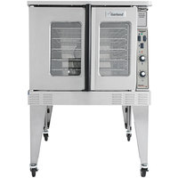Garland MCO-ED-10-S Single Deck Deep Depth Full Size Electric Convection Oven - 208V, 3 Phase, 10.4 kW