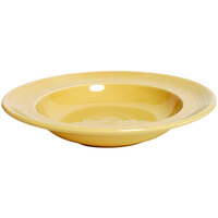 Tuxton CSD-090 Concentrix 12 oz. Saffron China Soup / Pasta Bowl - 24 / Case