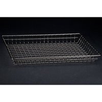 12 inch x 18 inch Wire Bagel / Pastry Basket
