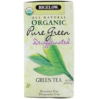 Bigelow Organic Pure Green Decaffeinated Tea - 20 / Box
