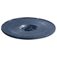 Carlisle 070314 Blue Lift-Off Replacement Lid for 071314 8 inch Tortilla Server - 12 / Case