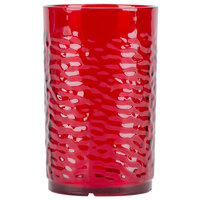 Carlisle 550910 Ruby Pebble Optic Tumbler 9.5 oz. - 24 / Case