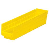 Metro MB30128Y Yellow Nesting Shelf Bin 17 7/8 inch x 4 1/8 inch x 4 inch