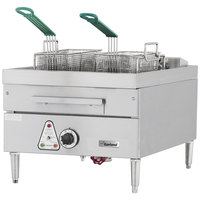 Garland E24-31F 30 lb. Countertop Electric Deep Fryer - 208V, 3 Phase, 12 kW