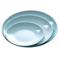 Blue Jade 9 3/4 inch Round Melamine Plate - 12/Case