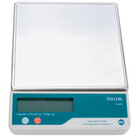 Taylor TE22FT 22 lb. Digital Portion Control Scale