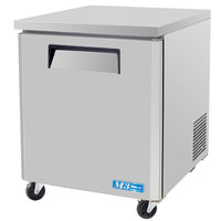 Turbo Air MUR-28 28 inch M3 Series Single Door Undercounter Refrigerator