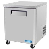 Turbo Air MUR-28 28 inch M3 Series Single Door Undercounter Refrigerator