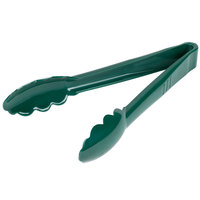 Carlisle 470908 9 inch Forest Green Plastic Utility Tong