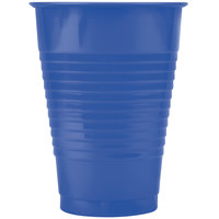 Creative Converting 28113771 12 oz. Navy Plastic Cup - 240/Case