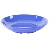 GET B-925-PB Diamond Mardi Gras 35.2 oz. Peacock Blue Melamine Bowl - 12/Case