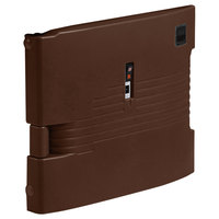 Cambro UPCHTD1600131 Dark Brown Replacement Heated Top Door for Camcarrier