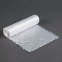 56 Gallon 16 Micron 43 inch x 48 inch Olympian High Density Can Liner / Trash Bag - 200 / Case
