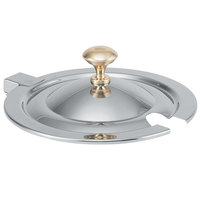 Vollrath 8261720 Miramar Hinged Cover with Brass Knob for 10 Qt. 8231220 Stainless Steel Soup Inset