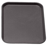 Cambro 1418FF167 Brown 14 inch x 18 inch Customizable Fast Food Tray 12/Case