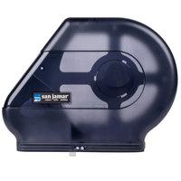 San Jamar R6500TBK Quantum 12 inch - 13 inch Jumbo Toilet Tissue Dispenser - Black Pearl