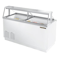 True TDC-67 67 inch Ice Cream Freezer Dipping Cabinet