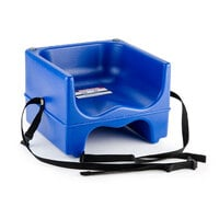 Cambro 200BCS Dual Seat Booster Chair with Strap - Navy Blue