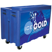 Blue Arctic 720 Mobile 288 Qt. Cooler with Casters