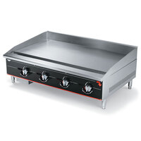 Vollrath 948GGM Cayenne 48 inch Heavy Duty Countertop Griddle with Manual Controls - 120,000 BTU
