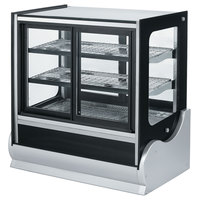 Vollrath 40891 48 inch Cubed Heated Display Cabinet with Front Access
