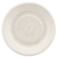 Green Wave Ovation Sugarcane / Bagasse OV-P006 6 inch Premium Biodegradable and Compostable Plate - 125 / Pack