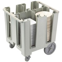 Cambro DCS1125480 Speckled Gray Versa Dish Caddy - 4 Column