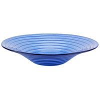 American Metalcraft GBB15 98 oz. Glacier Blue Glass Bowl