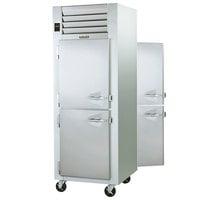 Traulsen G14304P 1 Section Pass-Through Half Door Hot Food Holding Cabinet with Left Hinged Doors