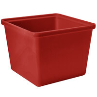 GET ML-149-RSP 2 Qt. Red Sensation Square Crock - 6 / Case