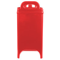 Cambro 350LCD158 Camtainer 3.375 Gallon Hot Red Insulated Soup Carrier