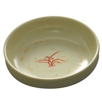 Gold Orchid 6 oz. Round Flat Bowl - 12/Case