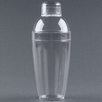Fineline Quenchers 4103-CL 14 oz. Clear Plastic Shaker 24 / Case