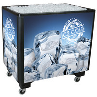 Black Ice Saver 060 Mobile 100 Qt. Frost Box with Casters