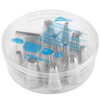 Ateco 786 12-Piece Stainless Steel Large Pastry Tube Decorating Set (August Thomsen)