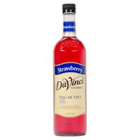 DaVinci Gourmet 750 mL Strawberry Sugar Free Coffee Flavoring Syrup