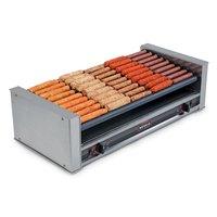 Nemco 8036-SLT Slanted Hot Dog Roller Grill - 36 Hot Dog Capacity (120V)