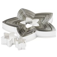 Ateco 7808 10-Piece Stainless Steel Star Cutter Set (August Thomsen)