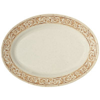 GET OP-621-OL Olympia Oval Platter - 12/Pack