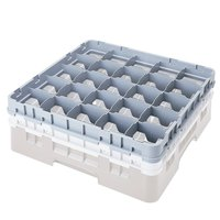 Cambro 25E2151 25 Camrack Compartment Soft Gray Half Drop Full Size Extender