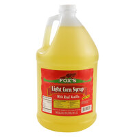 Fox's Light Corn Syrup - (4) 1 Gallon Containers / Case